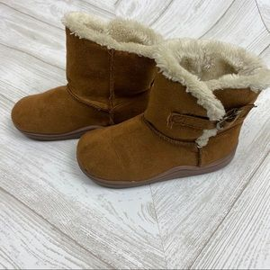 faded glory toddler girl boots size 8